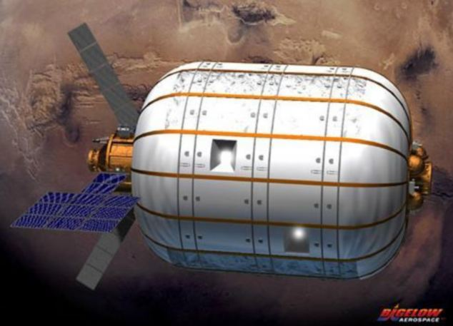 Inflatable space modules are intended to provide more room for the astronauts based in them.