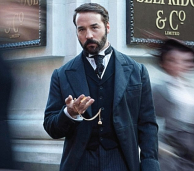 Downton with tills: Jeremy is thought to have his the jackpot with his latest role