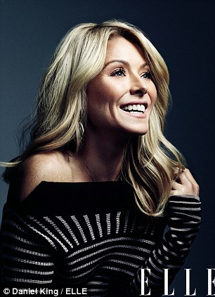 Beautiful after 40: Kelly told Elle Magazine she receives Botox injections every seven months in order to keep her pretty face looking its best