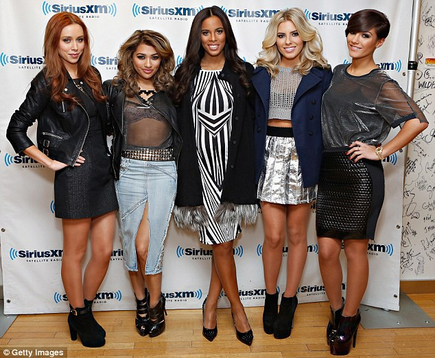 Hitting the Big Apple: The five-piece were at the SiriusXM Studios in New York City