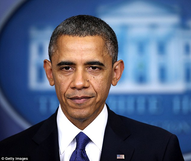 Ship-shape: Despite his weathered looks, Obama's doctors say he is in good psychical condition thanks to his vigorous exercise regimen