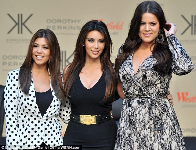 Beautiful no matter what: The youngest Kardashian sister has embraced looking different to Kim and Kourtney