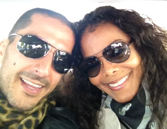 Happy snap: Last year, Janet is said to have become engaged to Qatari billionaire Wissam Al Mana, whom she has been dating since 2010