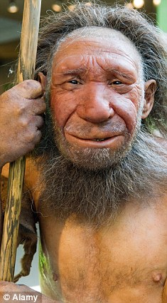 Back to life: This model of Neanderthal Man shows what the extinct species may have once looked like