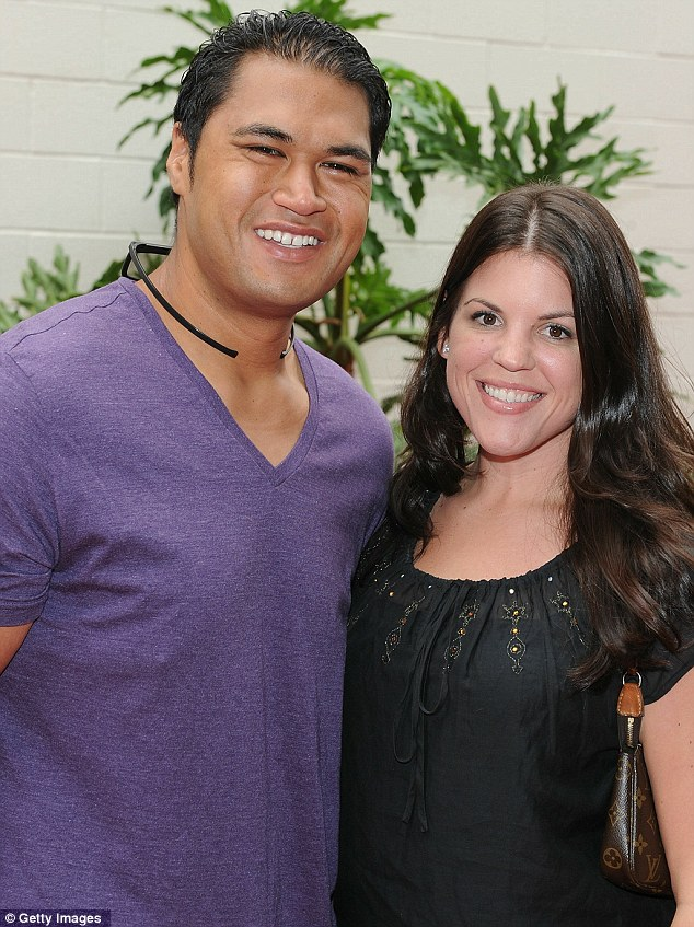 Biggest winners: Biggest Loser couple Sam Poueu and Stephanie Anderson are expecting a baby