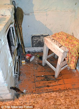 Stove in the house in Oldonda village where an 18-month-old girl was killed