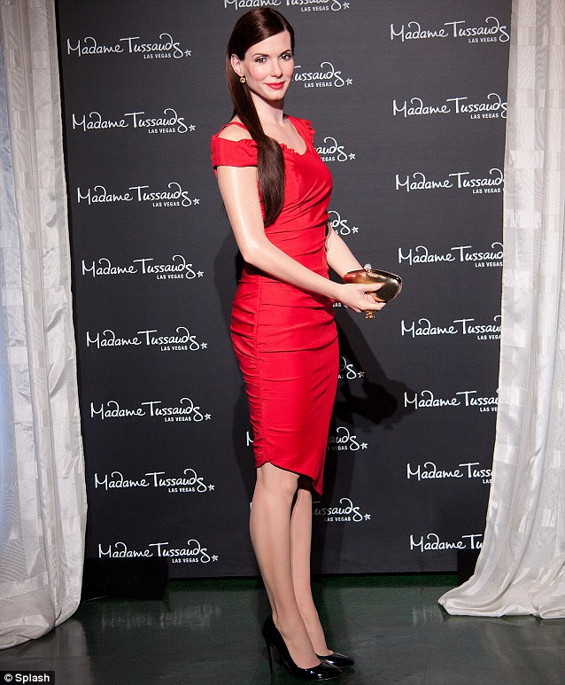 Her likeness: Her wax work was recently unveiled at Madame Tussauds in Las Vegas, Nevada
