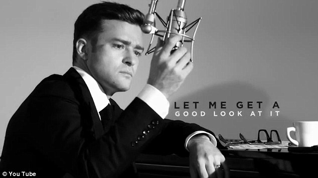 Is that Frank? Justin Timberlake does his best Sinatra impersonation in the video for Suit & Tie