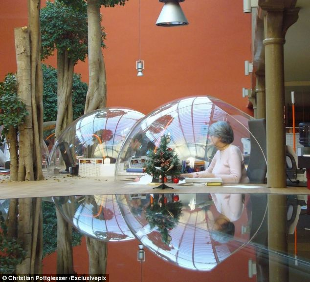 The Bubble Desk Office