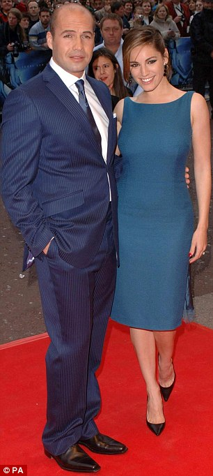 Unlucky in love: Kelly has also had long-term relationships with Jason Statham and Billy Zane