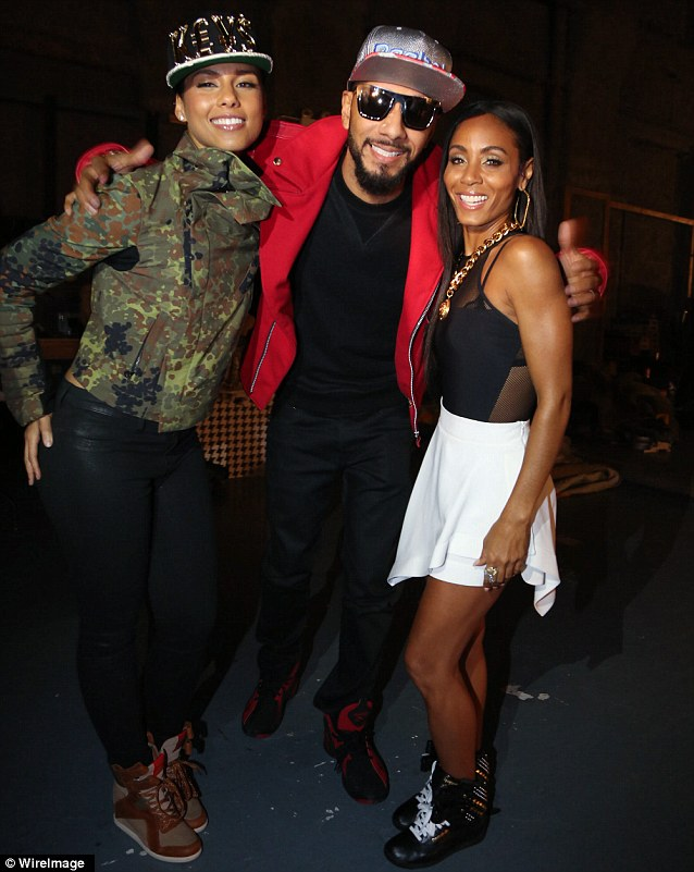Alicia Keys Recruits Husband Swizz Beatz And Jada Pinkett