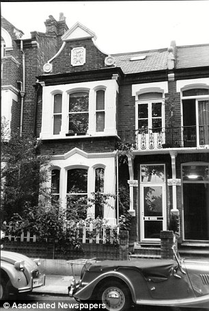 Dark secrets: The former Elm Guest House was raided by the 1980s and the owners charged with running a brothel