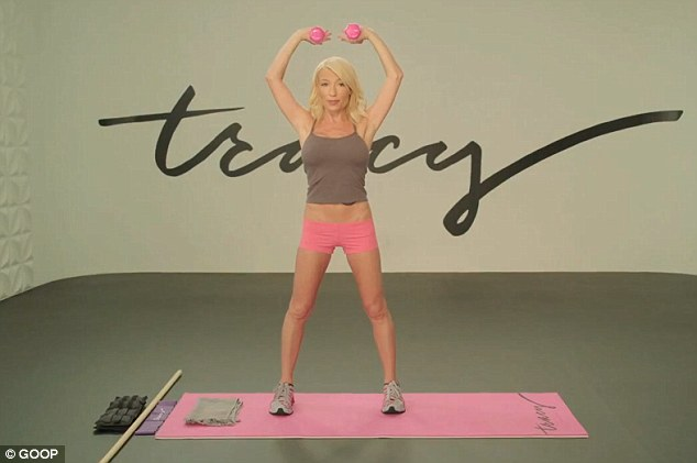Baby body workout plan: Celebrity trainer Tracy Anderson has worked with Madonna, Gwyneth Paltrow and Nicole Richie, and says that Kim's body will be better after the baby than before she was pregnant