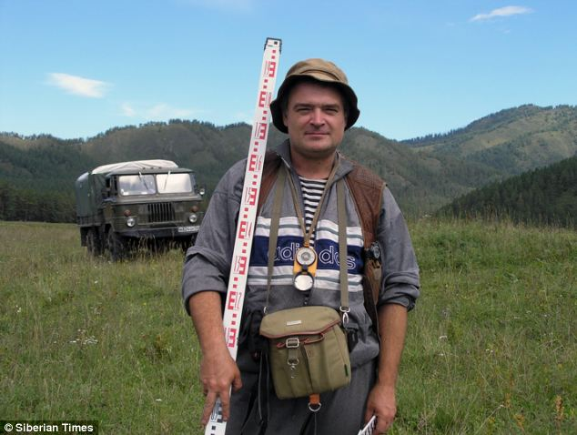 Investigating: Professor Andrey Borodovsky is keen to discover how the necklace came to Siberia