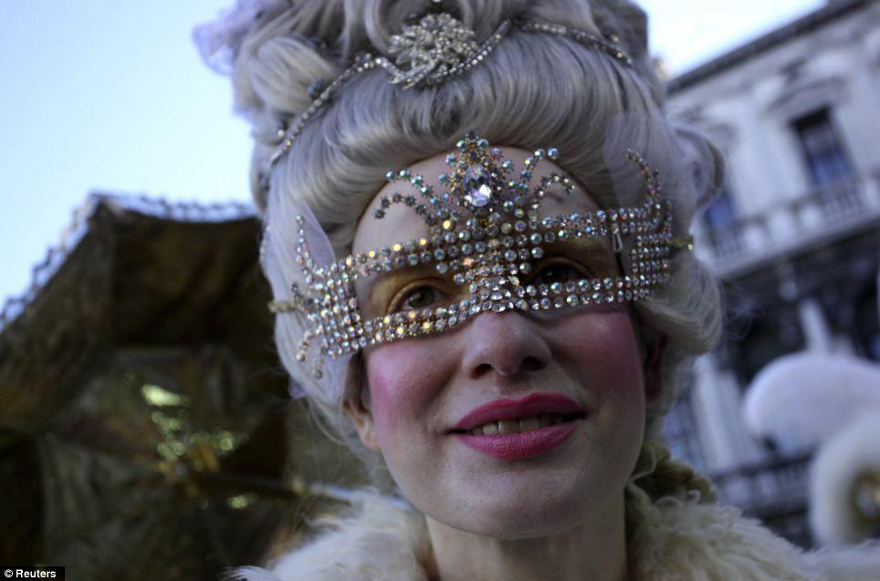 Traditional Carnevale di Venetian