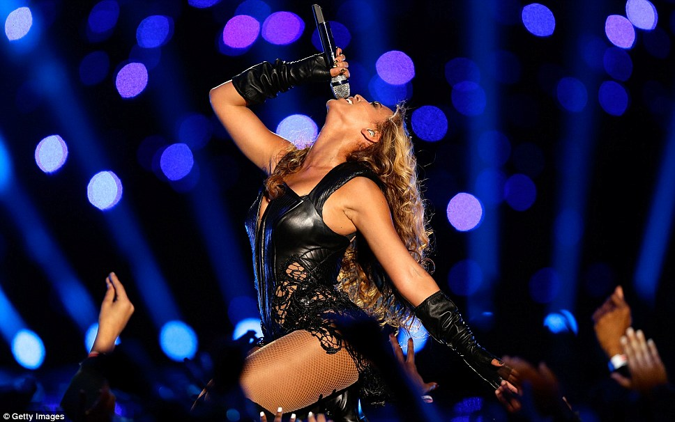 Переход жить!  Beyonce настаивала она будет на концертах в пресс-конференции по содействию шоу