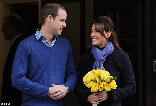 Time abroad: The Duke (left) and Duchess of Cambridge (right) have jetted off to the Caribbean on holiday