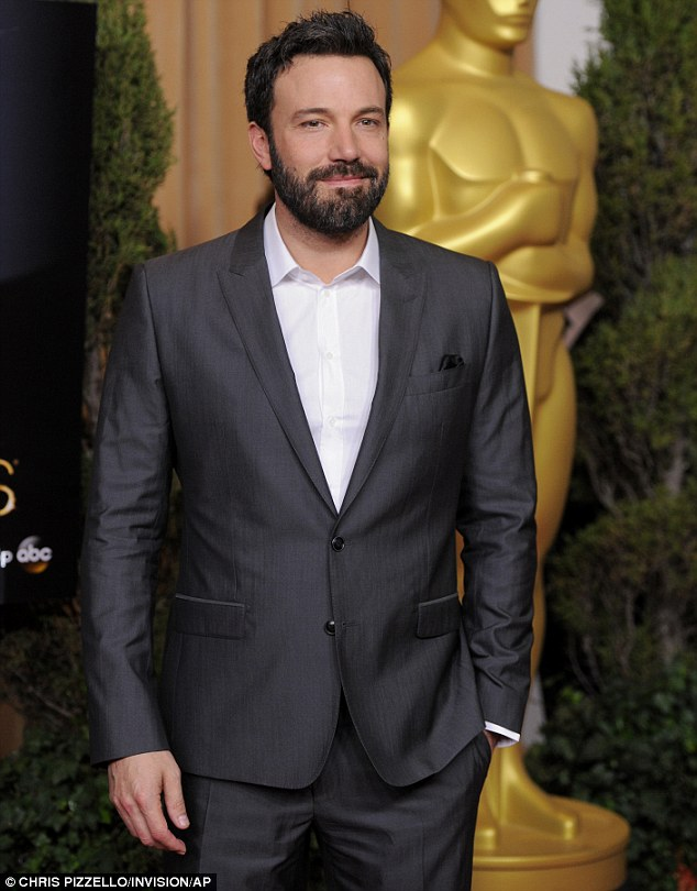Hollywood turnout: Ben Affleck also attended the glamorous luncheon in Beverly Hills