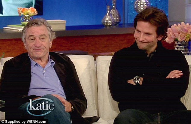 Father and son: Bradley Cooper plays Pat, who suffers from bi-polar disorder. As with most mental illness, the family suffers as much as the afflicted person