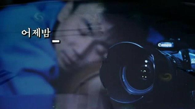 Bizarre: El vídeo se disparó como una secuencia de sueño de un joven al verse a bordo de un transbordador espacial