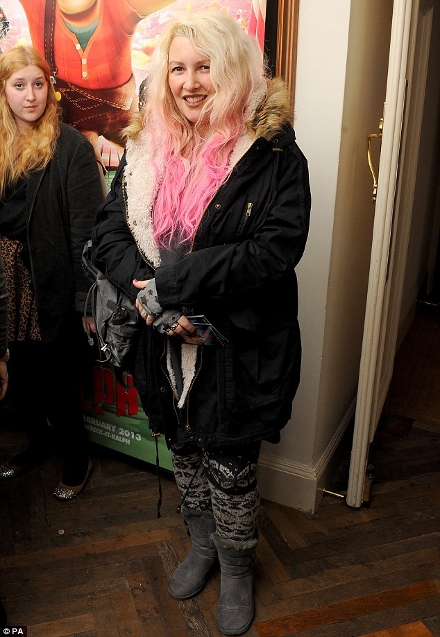 Jane Goldman Looks Unrecognisable With Blonde Dip Dyed