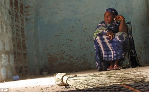 Ordeal: 24-year-old Salaka Djicke reflects on the horror she endured during the 10 months of Islamist rule in her hometown of Timbuktu