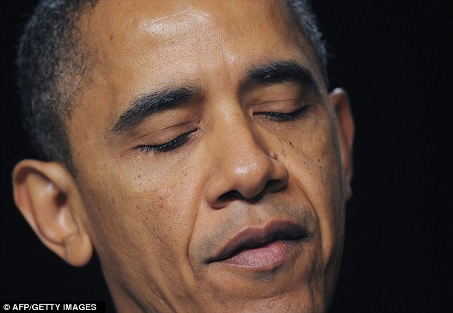 A visibly weary President Barack Obama spoke at the National Prayer Breakfast and lamented that the very point of the breakfast - faith and togetherness - would likely disintegrate within a couple hours