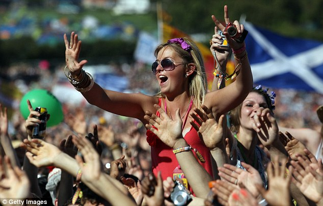 Big pop festivals such as Glastonbury or Reading must pay £64,000 for a council licence