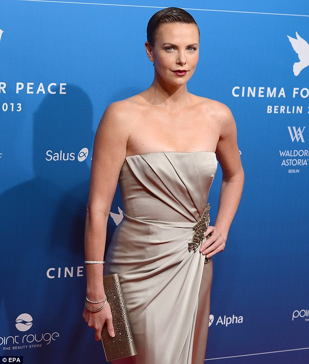 In demand: The 37-year-old is in Germany for the 63rd Berlin International Film Festival