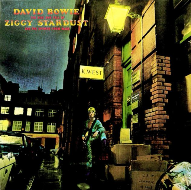 Star power: Davud Bowie's music career took off after he invented Ziggy Stardust, a character he said would look as if he came from Mars