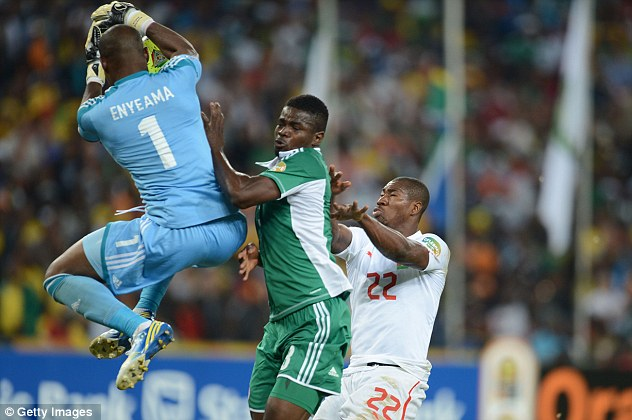 Safe hands? Vincent Enyeama clings on despite pressure from Prejuce Nakoulma