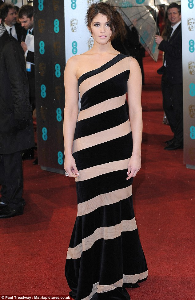 Fleshy fantastic? Gemma Arterton's one shoulder optical illusion gown didn't win over crowds