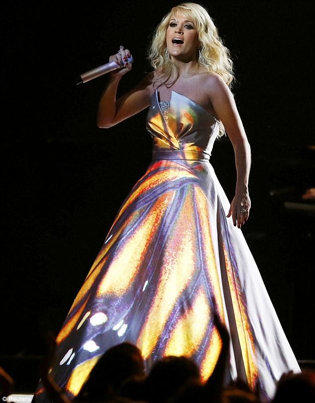 Katy Perry 55th Grammy Dress