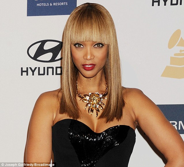 Rival: Tyra Banks has made millions from America's Next Top Model - but now Naomi Campbell is launching a rival TV show