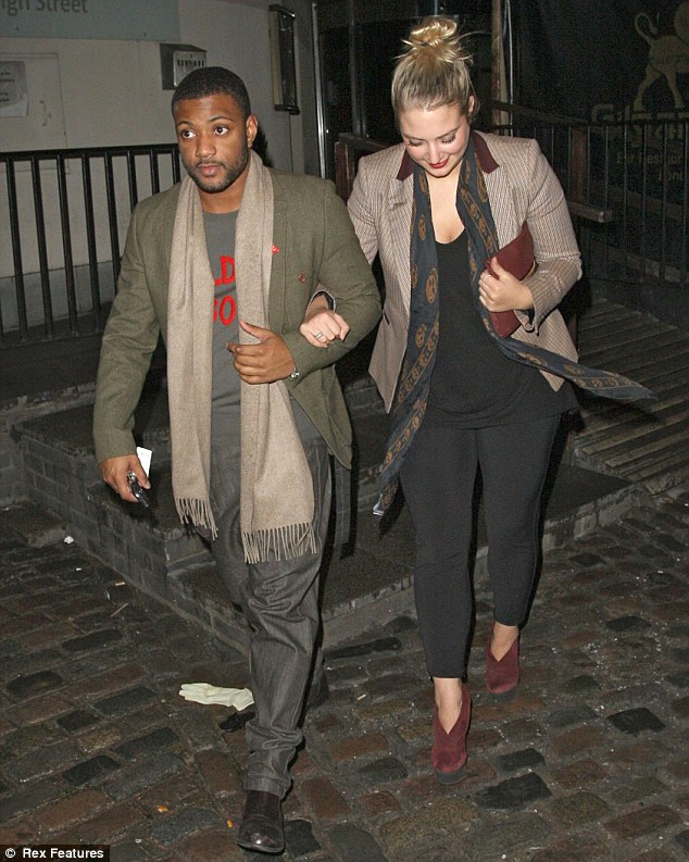 The winners: J.B and Chloe Tangney just pipped Marvin and Rochelle for the best dressed couple award on the night