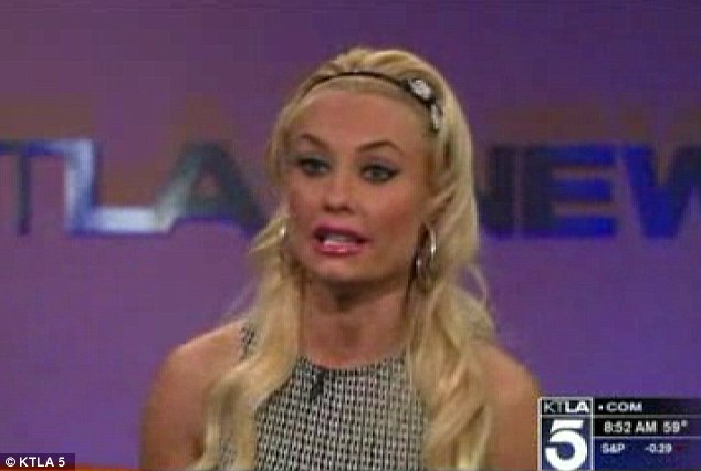 No babies yet: Coco, who replaced the pregnant Holly Madison in the Vegas act, said she's not planning on getting pregnant anytime soon
