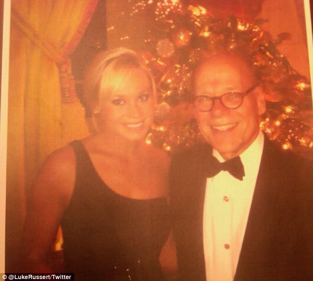 Bonding: Since learning of her existence only three years ago, Cohen has gotten to know Ms Brink and took her on a tour of the Capitol and to the White House Christmas party (pictured)