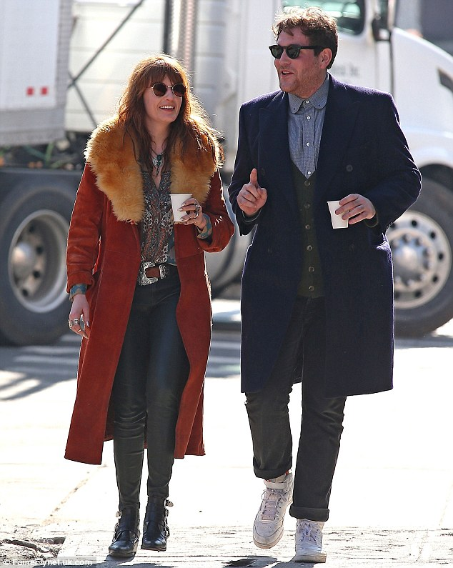 Florence Welch Gets The Giggles As She Enjoys A Valentine