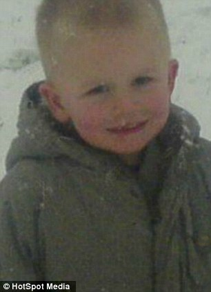 Aaron Dugmore, nine, was found hanging at his family home around 6pm on Monday night