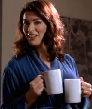 Nigella says she mostly in a dressing gown and slippers when at home