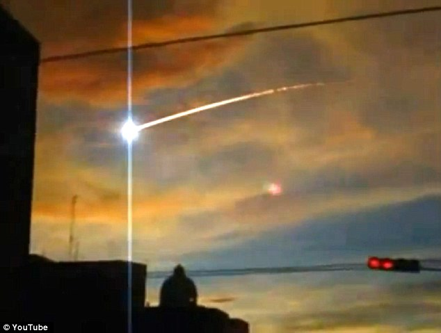 Locals in Cuba said they saw this bright light in the sky followed by a loud explosion