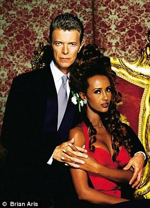 Bowie married model Iman in 1992