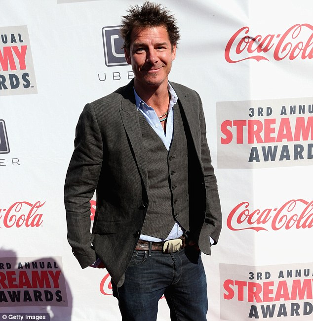 Makeover not needed: Extreme Makeover's Ty Pennington mixed it up wearing jeans with a vest and jacket