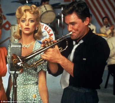 Image result for goldie hawn and kurt russell in swing shift