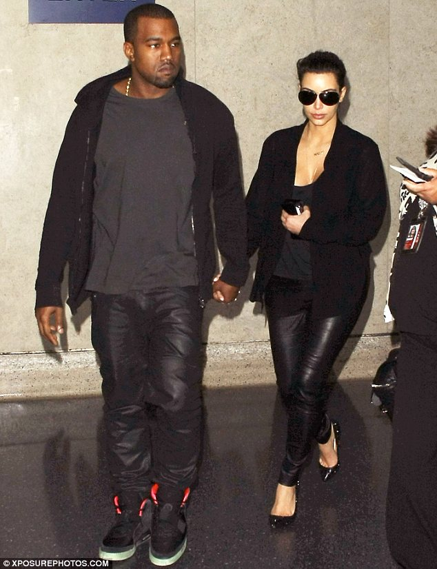 Time will tell: Kim is pregnant with her first child with Kanye West and may avoid the spotlight after the birth of her baby