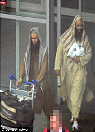 Naseer and Khalid. bearded savages looking on top to the max dressed as taliban