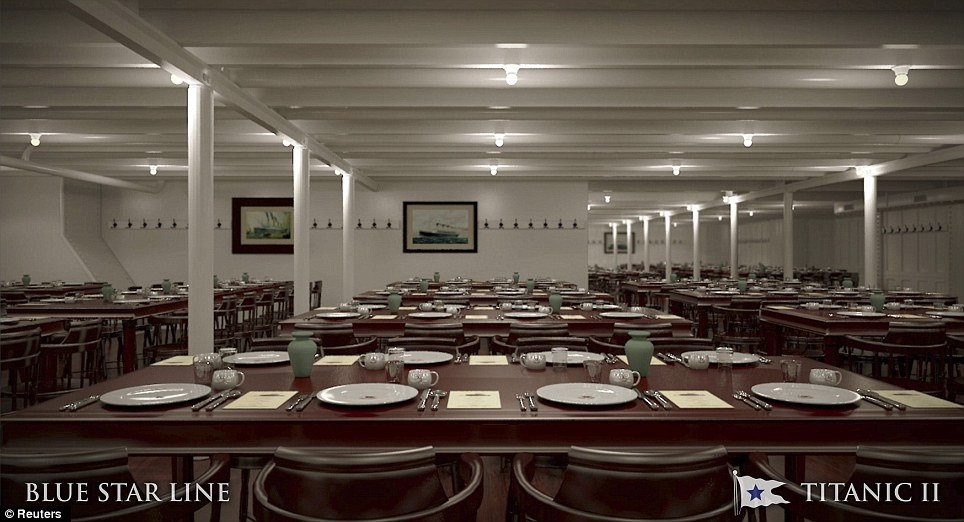 Titanic II Australian Tycoon Unveils Plans For Replica Of