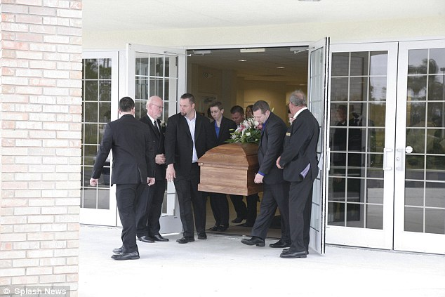 Pallbearers included McCready's three brothers -- Timothy, Joshua and Skyler and some of her cousins