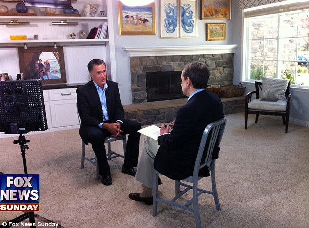 FOX News Sunday's Chris Wallace sits down exclusively with former Republican presidential candidate Mitt Romney and his wife Ann Romney at their son's home in San Diego, CA for their first post-election interview to be presented on Sunday, March 3rd
