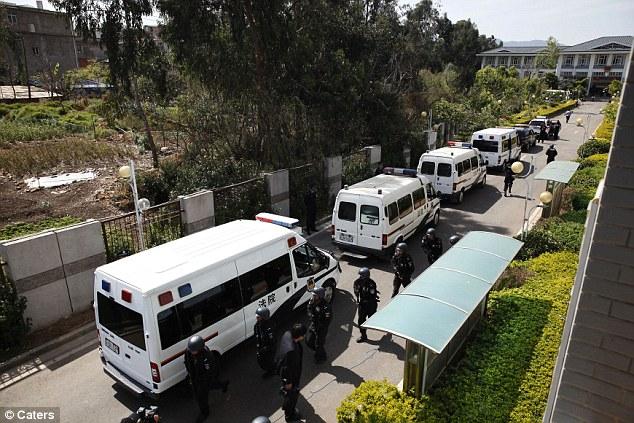 China's Execution Van – Mobile Execution Unit, | Belfast Child